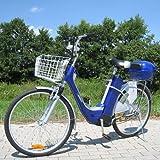 Elektro Fahrrad City Bike E-Bike 36V Elektroantrieb 250W Elektrobike blau