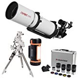 Sky Watcher Esprit ED APO 120mm f/7 Refractor Telescope with AZ-EQ6-R Pro GoTo SyncScan Equatorial Mount and 2