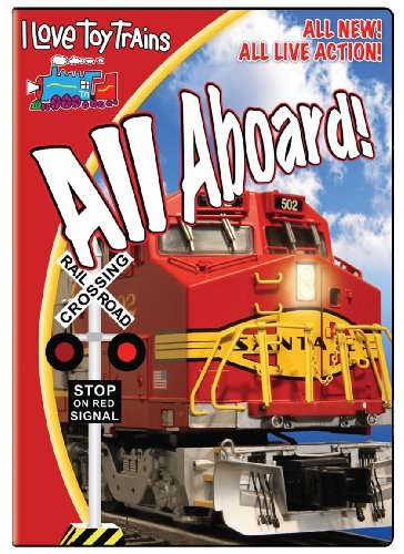I Love Toy Trains - All Aboard!