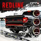"60"" Redline LED Tailgate Light Bar - Triple-Core LED - Weatherproof - Full Function - 2yr Warranty - Easy Screw-Less Install - Durable Rigid Aluminum - Reverse Signal Running Brake - Rain or Snow"