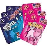 SEXXES for men & women - für Männer & Frauen - Perfekt mit Ginseng Extrakt - 6 Tabletten, davon 3 für Sie & 3 für Ihn