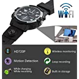 fannuoyi Wrist Watch Camera Wireless Remote Monitoring Camera 720P HD IP P2P IR Night Version DV Video Audio Recorder Built in 32GB