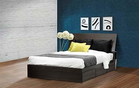 Eco-Friendly Full Bed in Ebony