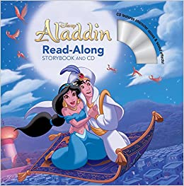 Aladdin Read-Along Storybook and CD: Disney Book Group, Disney