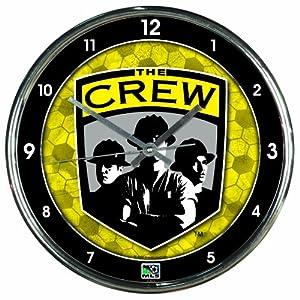 MLS Columbus Crew Chrome Clock by WinCraft