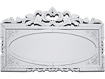 Chantilly Etched Mirror