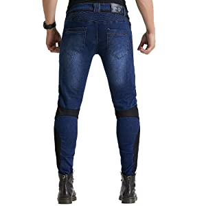36 Milwaukee Performance MPM5590-BLACK-36 Mens Cargo Jeans Reinforced with Aramid by Dupont Fibers Black