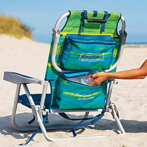 Tommy Bahama 2016 Backpack Cooler Chair With Storage Pouch