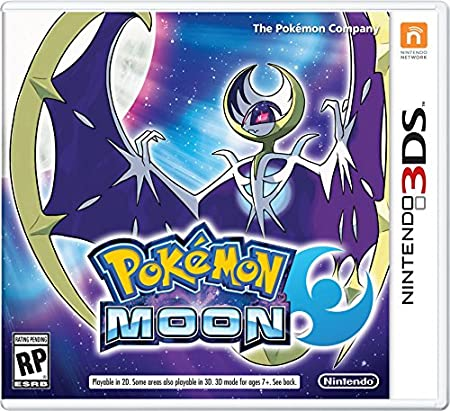 Pokemon Moon - Nintendo 3DS Moon Edition