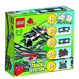 61OuRhGsUbL. SL160  LEGO Duplo   Tren de juguete y accesorios (10506)