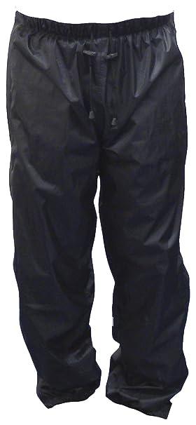 Motorx 4290620 Pantalon imperméable avec fermeture Éclair pour moto Taille S