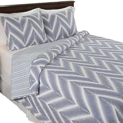 Lavish Home Oriana 2 Piece Quilt Set - Twin (Chevron Quilted Comforter compare prices)