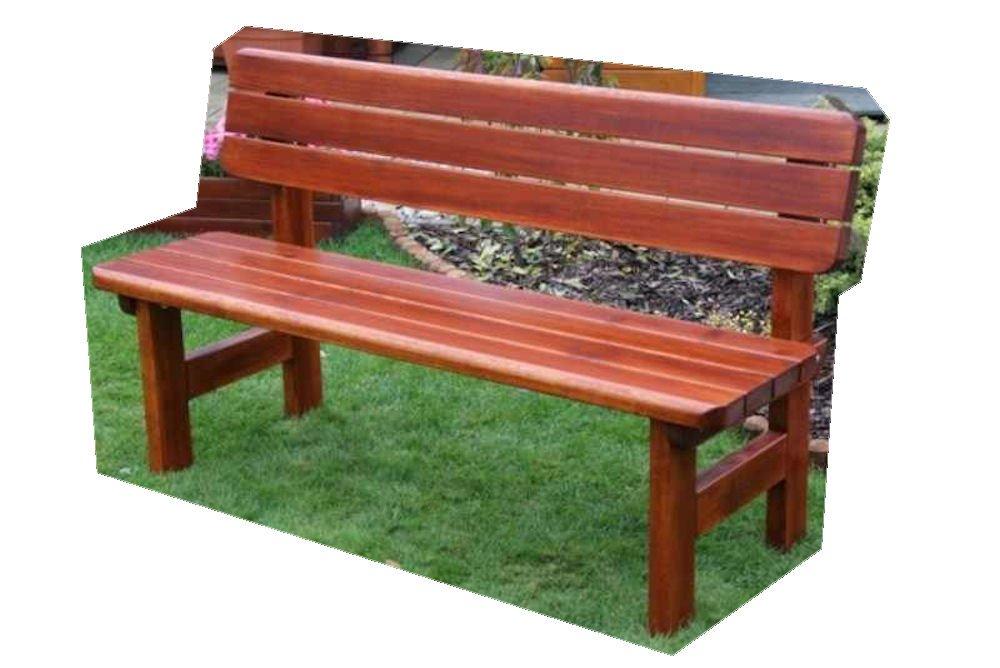 """Massivholz Gartenbank """"Rovna"""" Kiefer , unbehandelt , B 150 cm , Holzstärke : 42 mm ! günstig"""