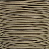 "Paracord Planet 1/8"" Shock Cord in Various Colors – Choose from 10, 25, 50, and 100 Feet, Made in USA (Color: Coyote Brown, Tamaño: 25 Feet)"