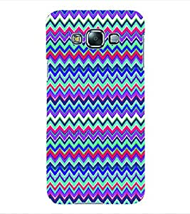 ColourCraft ZigZag Pattern Back Case Cover for SAMSUNG GALAXY GRAND MAX G720