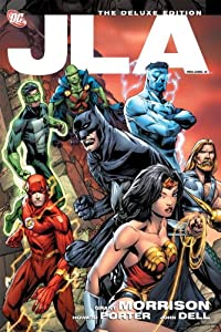 JLA: The Deluxe Edition, Vol. 2 by Grant Morrison, Christopher Priest and Various