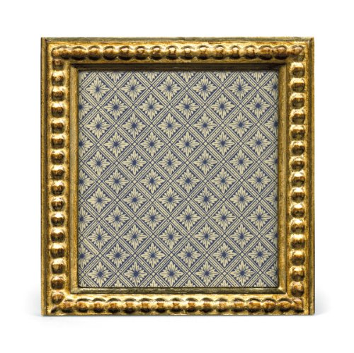 Cavallini Papers Florentine Frame, 3 by 3-Inch, Romano Gold