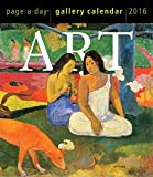 Art Page-A-Day Gallery Calendar 2016