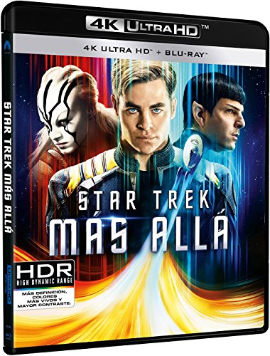 Star Trek: Más Allá (4K Ultra HD) [Blu-ray]