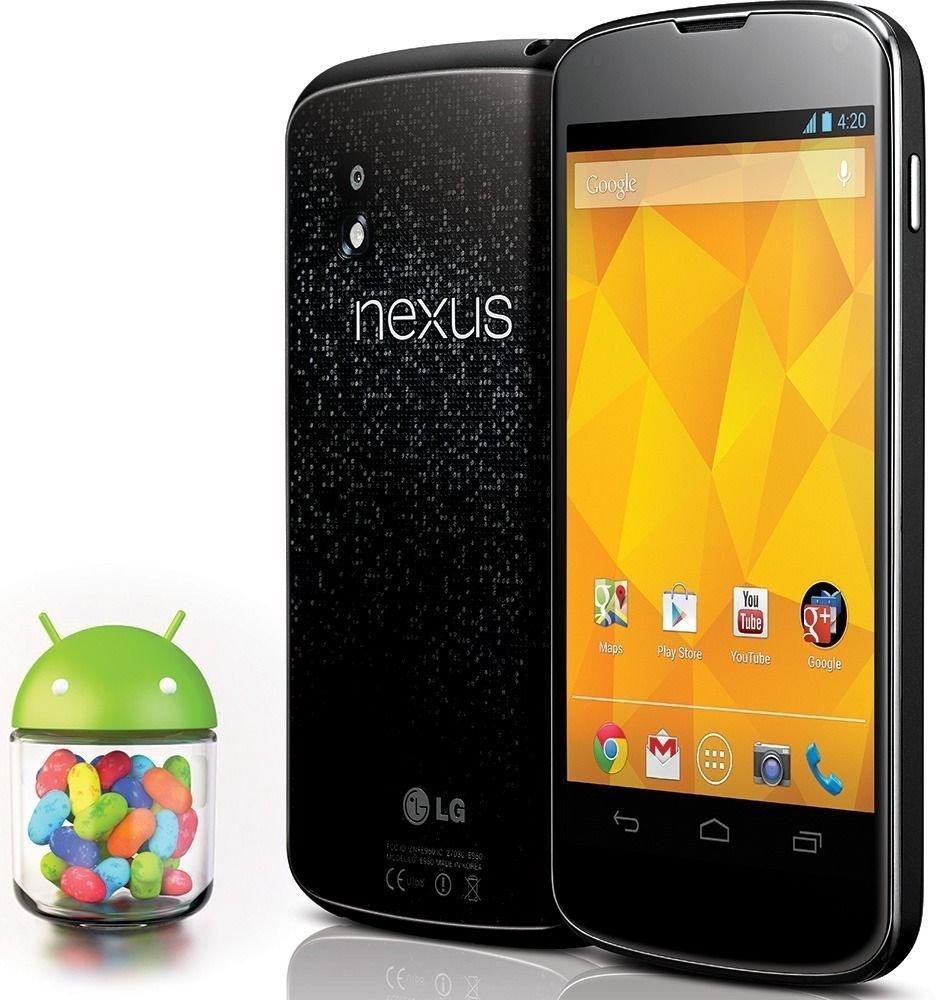 LG Google Nexus 4 E960 Android Cell Phone 16GB 8MP - Black (Unlocked) Smartphone | eBay