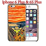 Cartoon design (for Iphone 6 Plus / Iphone 6s Plus) 5.5in Hard Case Cover (scooby6)
