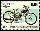 ESKA-MOFA 1939 Motorcycles & Motorbike -Framed Postage Stamp Art 18787