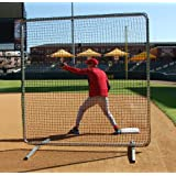ProCageTM Premium 1st Base  Fungo Protective Screen 7ftx7ft w Net by