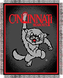 NCAA Cincinnati Bearcats Focus Woven Throw Blanket by Northwest
