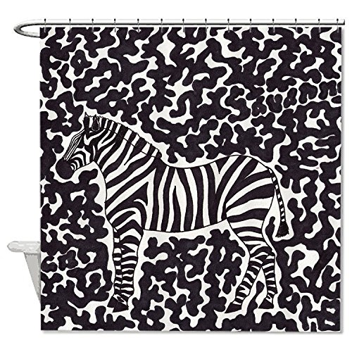whiangfsoo-zebra-marker-design-soft-polyester-fabric-bathroom-shower-curtain-liner-66x72