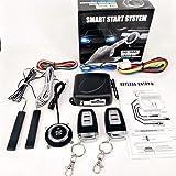 Partol Smart Key PKE Car Alarm Passive Keyless Entry Car Alarm System Engine Start Stop Push Button Remote Starter Shock Sensor Alarm