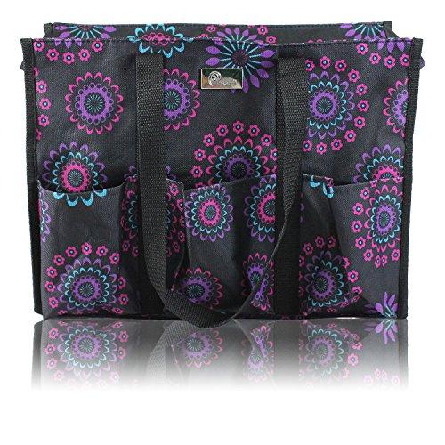 Utility Organizing Zip Top Tote Bag