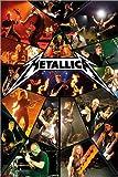 Poster Metallica - Live - preiswertes Plakat, XXL Wandposter im Format 61 x 91.5 cm