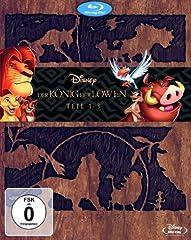 Der König der Löwen 1-3 - Trilogie - Limited Diamond Edition auf Blu-ray ab 29,97 Euro inkl. Versand