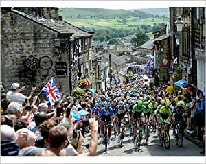 Photographic Print of Cycling - Tour de France - Stage Two - York to Sheffield