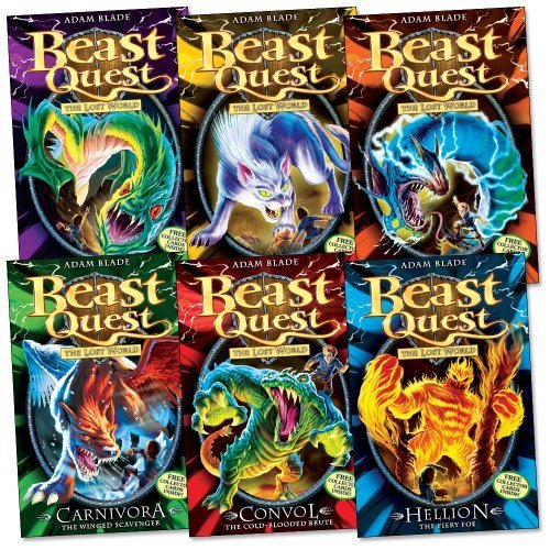 Beast Quest Pack: Series 7, 6 books, RRP 29.94 (37 Convol, 38 Hellion, 39 Kr...