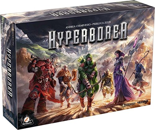Asmodee - HPB01FR - Jeu d'ambiance - Hyperborea