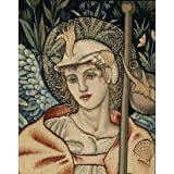 Angeli Ministrantes Tapestry, by Edward Burne-Jones & T.H. Dearle (V&A Custom Print)