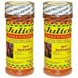 Julio's Seasoning 8 Oz (2 Pack)