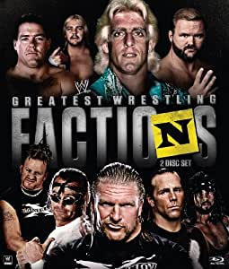 WWE: Wrestling's Greatest Factions (Blu ray) [Blu-ray]