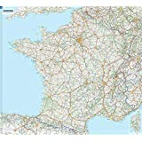 Carte Plastifie Roule France