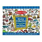Melissa & Doug Sticker Collection- Blue