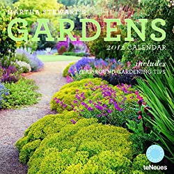 2012 Martha Stewart's Gardens Grid Calendar