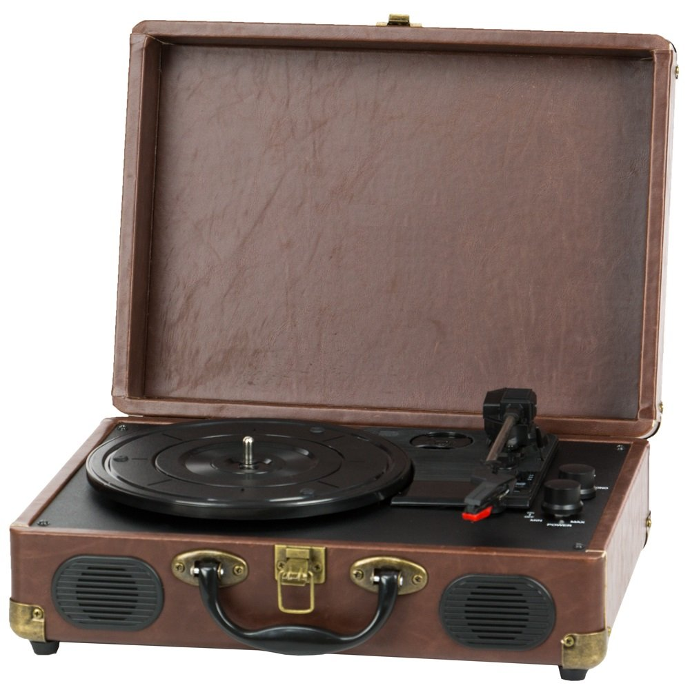 QFX TURN-101 Retro Collection Suitcase Turntable 0