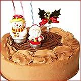 Xmasケーキ 北海道チョコモンブラン 6号18cm 【12/20~22】お届け/クリスマス