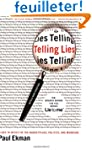 Telling Lies: Clues to Deceit in the...