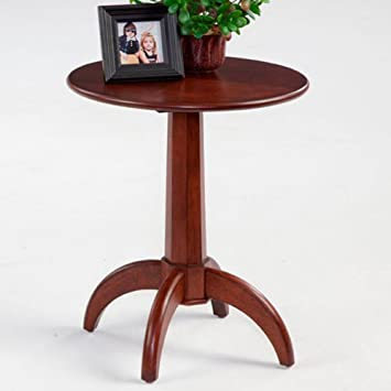 Progressive Furniture P300-67 Round Wood Chairside End Table