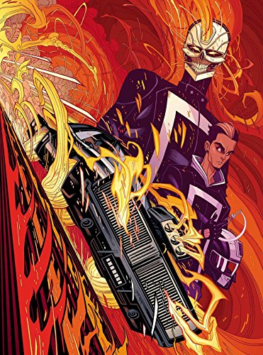 Marvel Comics All New Ghost Rider #1 Poster