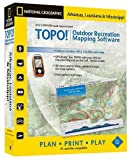TOPO! National Geographic USGS Topographic Maps (Arkansas, Lousiana, and Mississippi)