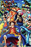 "One Piece Wall Decoration Poster Affiche Size 23.5""x35"" (#14)"