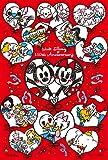 ディズニー ジグソーパズルプチ204ピース ラブラブ110thアニバーサリー! パズル+フレームセット 98-599